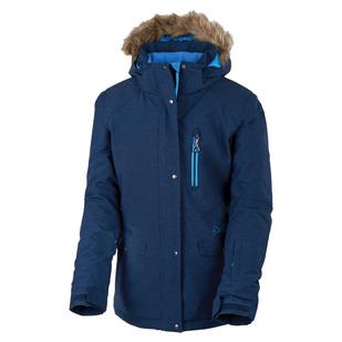 Tianna Jr - Girls' Insulated Hooded Jacket