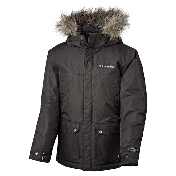 Snowfield Jr - Boys' Hooded Jacket