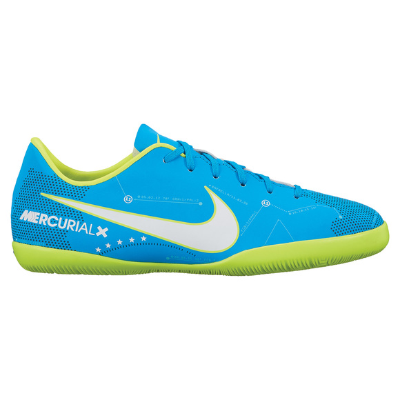 MercurialX Victory 6 NUR IC Jr - Chaussures de soccer intérieur pour junior