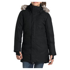 Arctic Swirl Jr - Girls' Down Insulated Jacket