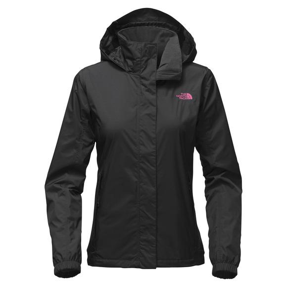 Resolve - Manteau imperméable à capuchon pour femme