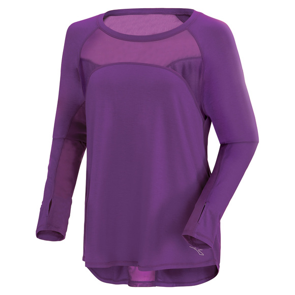 Run Free (Plus Size) - Long-Sleeved Shirt