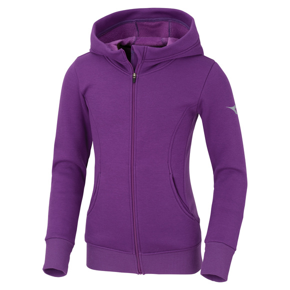 Hug Me Jr - Girls' Full-Zip Hoodie