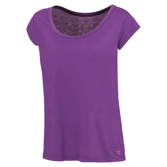 Essential - T-shirt à mancherons pour femme