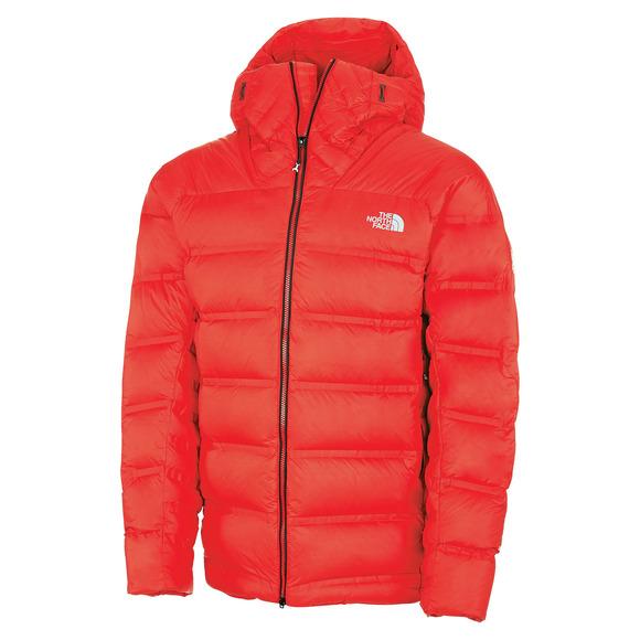 Summit L6 Down Belay - Men's Hooded Jacket