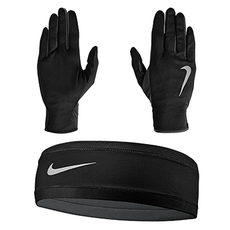 Run Dry - Women's Run Headband And Glove Set