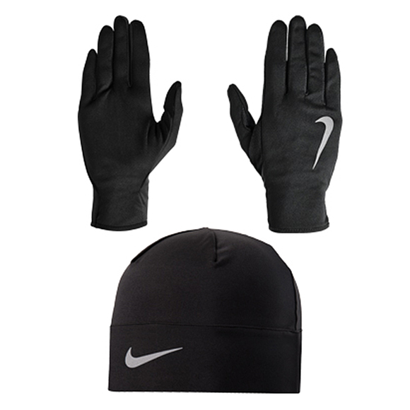 NIKE Run Dry - Men s Run Beanie And Glove Set  ebc1f1d5646