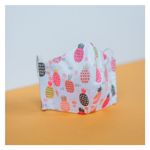 Pineapple (Small) - Junior Reusable Non-Medical Mask