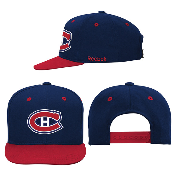 58D44 - Casquette ajustable pour junior - Canadiens de Montréal