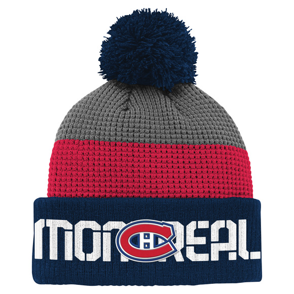 Waff Cuff Pom - Junior Tuque - Montreal Canadiens