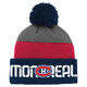 Waff Cuff Pom - Junior Tuque - Montreal Canadiens  - 0