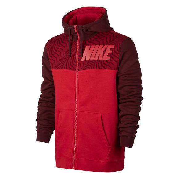 Sportswear - Men's Full-Zip Fleece Hoodie