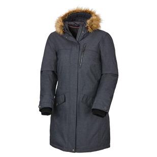 Ahsley - Manteau à capuchon en duvet pour femme