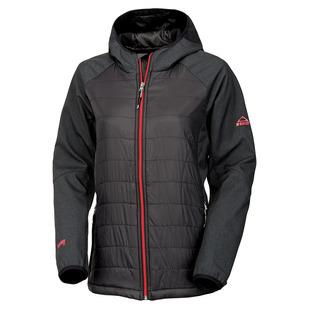 Aleneva - Manteau softshell à capuchon pour femme