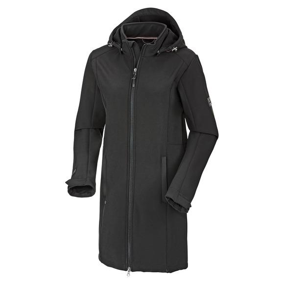 Megan - Manteau softshell à capuchon pour femme