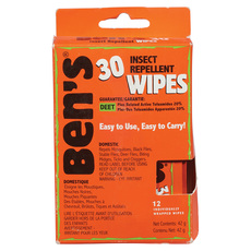 Ben's® Wipes - Insect Repellent Wipes