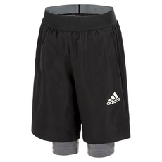 YB Urban Jr - Junior 2-in-1 Training Shorts