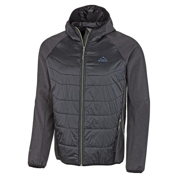 Aleneva - Manteau softshell à capuchon pour homme
