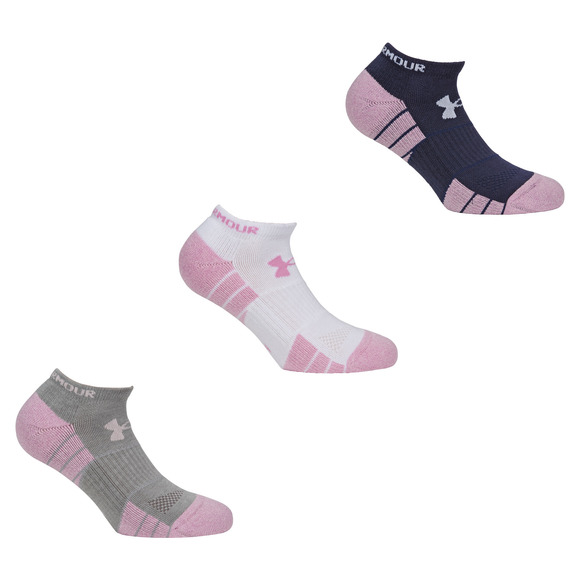 Elevated Performance - Socquettes pour femme (paquet de 3 paires)