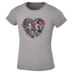 Splatter Heart Kids - Girls' T-Shirt
