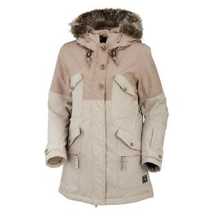Clip - Manteau à capuchon pour femme