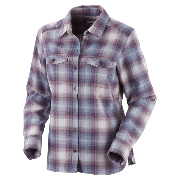 Silver Ridge -  Women's Long-Sleeved Flannel Shirt