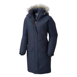 Alpine Escape 550 TurboDown - Manteau à capuchon en duvet pour femme