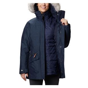 Carson Pass - Manteau d'hiver à capuchon 3 en 1 pour femme