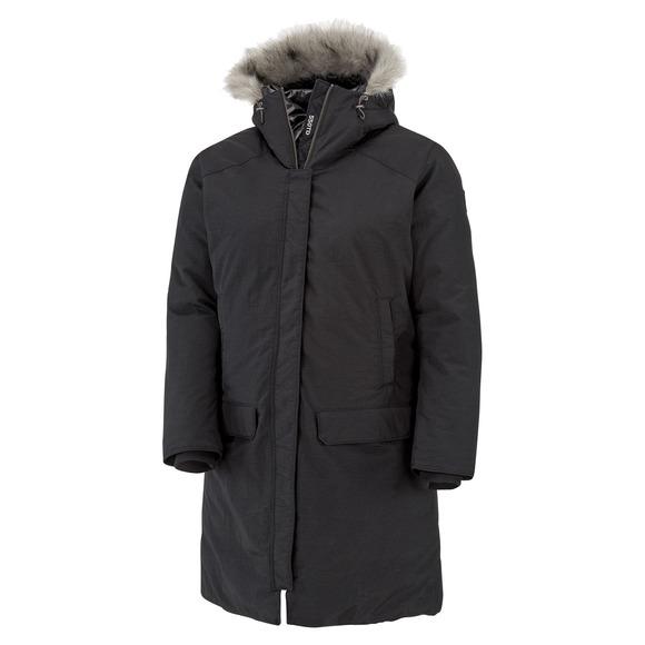 Alpine Escape 550 Turbodown Plus Size - Women's Hooded Down Jacket