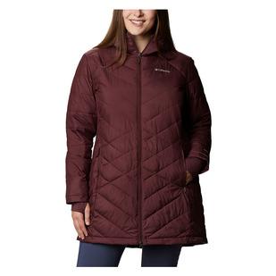 Heavenly (Taille Plus) - Manteau en duvet pour femme