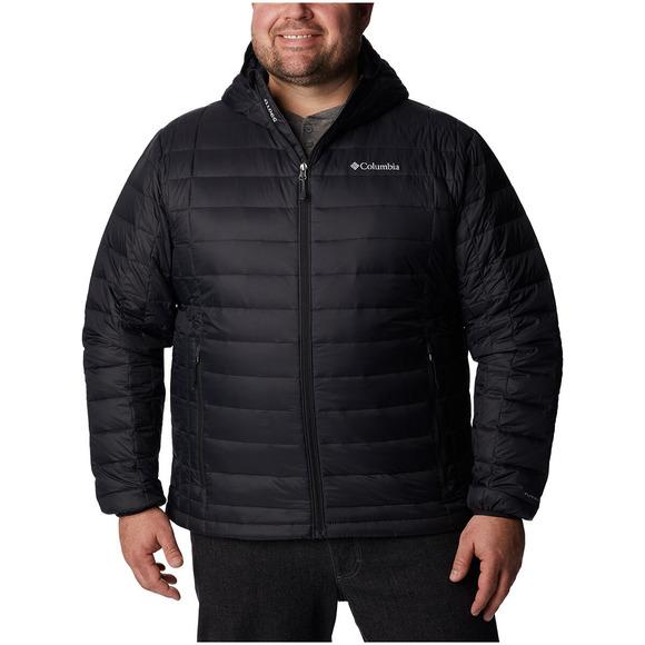 Voodoo 590 TurboDown (Taille Plus) - Manteau en duvet à capuchon pour homme