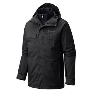Bugaboo IC - Manteau d'hiver à capuchon 3 en 1 pour homme