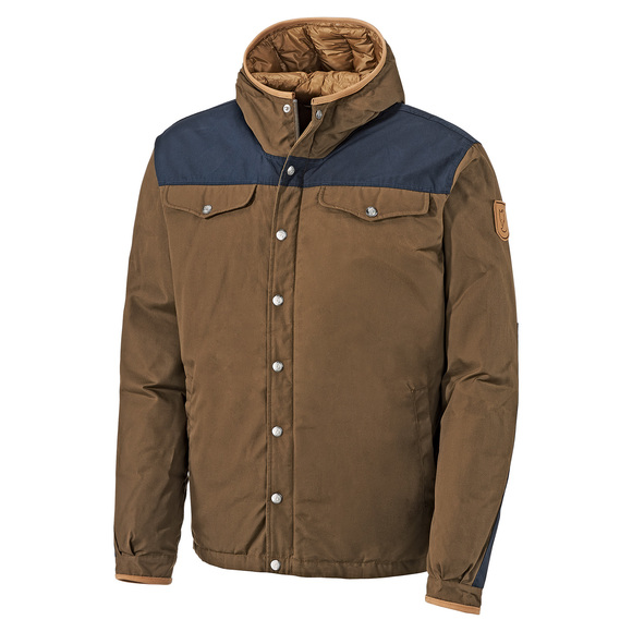 Greenland - Men's Hooded Down Jacket