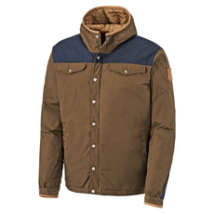Greenland - Manteau à capuchon en duvet pour homme