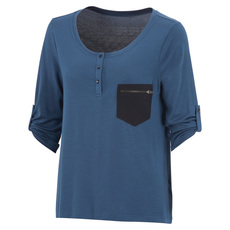Abena - Women's Long-Sleeved Shirt