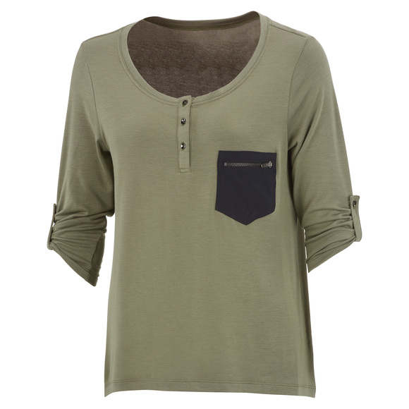 Abena - Women's Long-Sleeved Shirt