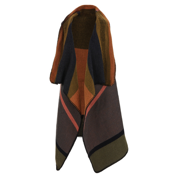 Jacquard - Women's Poncho