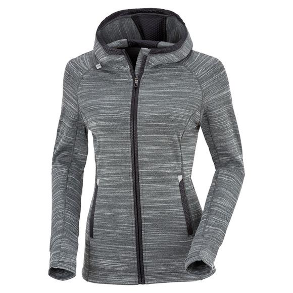 Basma - Women's Fleece Full-Zip Hoodie