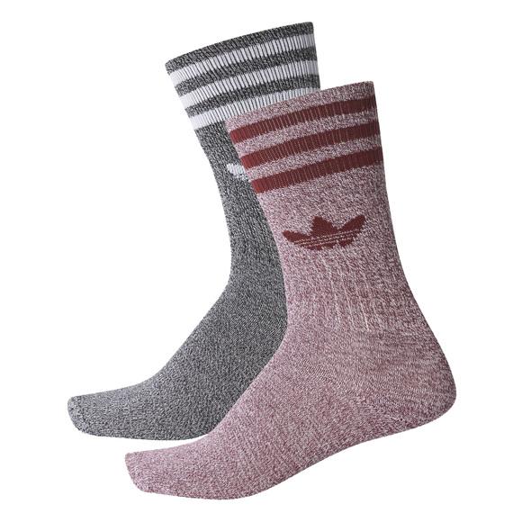 Solid Crew Mela - Men's Socks
