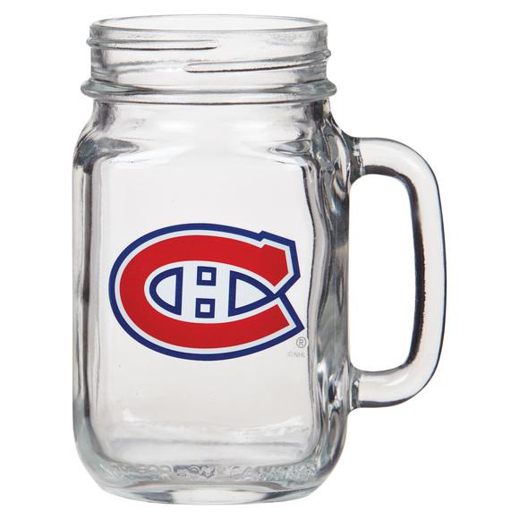 GL97084 - Chope Mason 16 oz - Canadiens de Montréal