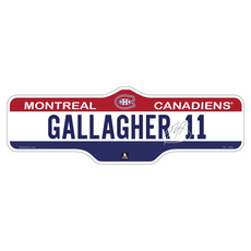 SNST - Street Sign - Montreal Canadiens and NHL
