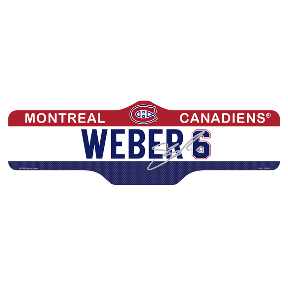 SNST - Street Sign - Montreal Canadiens