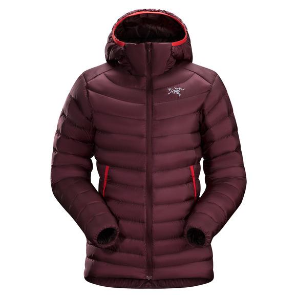 Cerium LT - Manteau à capuchon en duvet pour femme