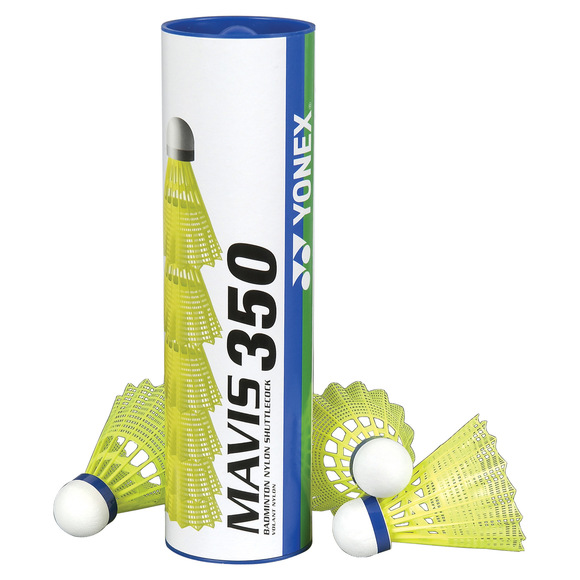 Mavis 350 - Nylon Shuttlecocks (Pack of 6)