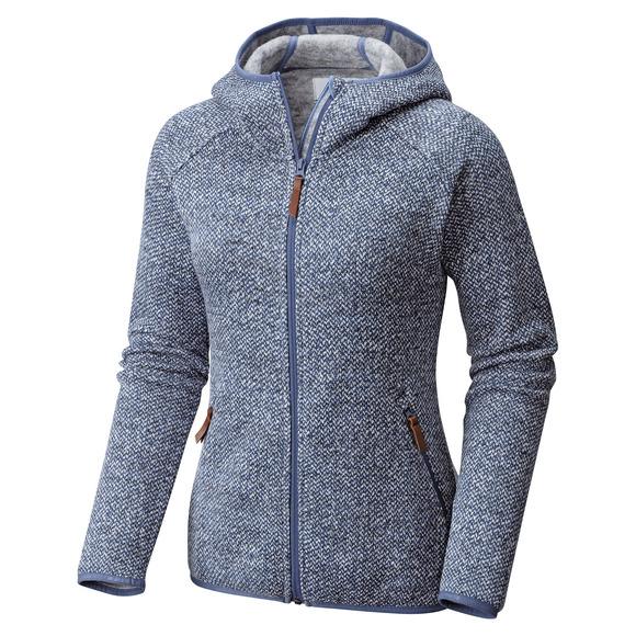 Chillin - Blouson en laine polaire pour femme