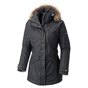 Liquidation Foggy Breaker - Manteau d hiver à capuchon pour femme 105b3bf336fe