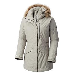 Foggy Breaker - Manteau d'hiver à capuchon pour femme