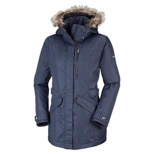 Foggy Breaker - Women's Hooded Winter Jacket