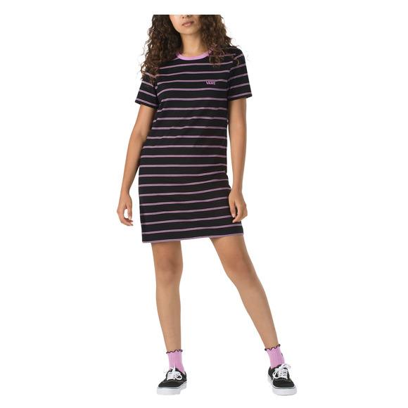 VANS Ally Stripe - Robe à manches courtes pour femme