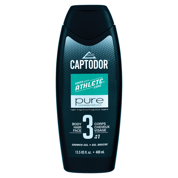 Captodor (400 ml) - Gel douche 3 en 1